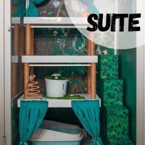 Hotel para gatos Suite Prmium